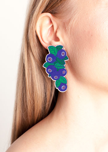 Mustikka earrings