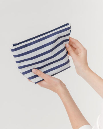 Carry all Pouch M Sailor Stripe