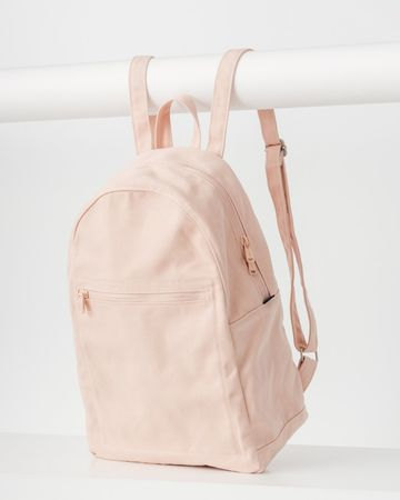 Zip backpack | Shell