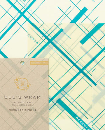 Bee's Wrap 3-pack S/M/L geometric print