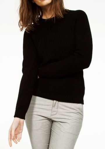 Fumadora knit sweater | black