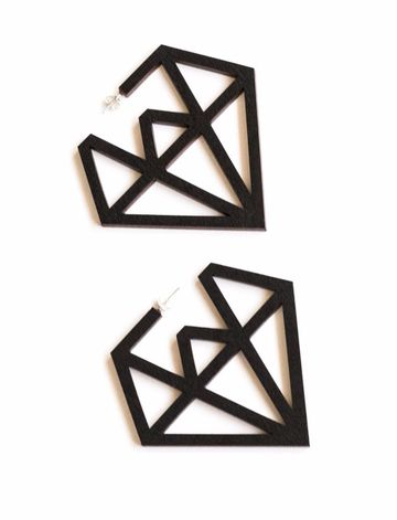 Doo Wop earrings | black