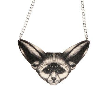 Vision aavikkokettu necklace | black