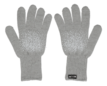 Kivi touch screen gloves | metal