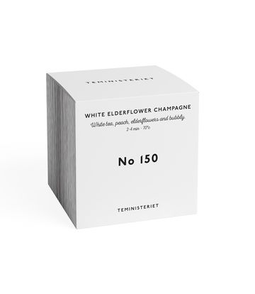 Elderflower champagne | white tea nro 150 BOX