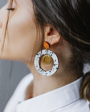 Renkaat earrings | kulta