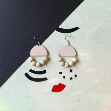 Huvitella earrings | pink