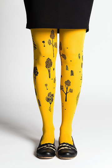Puisto tights 70den | yellow