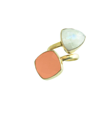 Heli carnelian ring | gold
