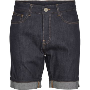 Oak selvage denim shortsit | sininen