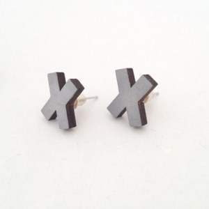 XXX earrings | grey