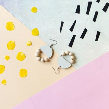 Huvitella earrings | mint