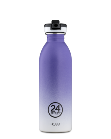 Urban Bottle 500 juomapullo sporttikorkilla | purple rhythm