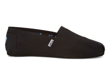 Men's Classic alpargatas | black on black canvas