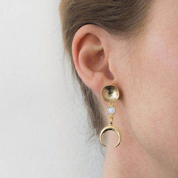 Kiana earrings | gold