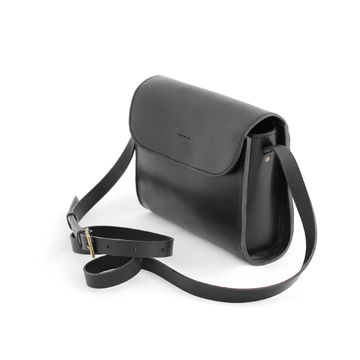 ELVI crossbody bag | black