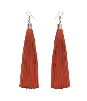Bright new dawn earrings | orange