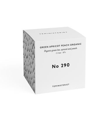Apricot peach | organic green tea nro 290 BOX