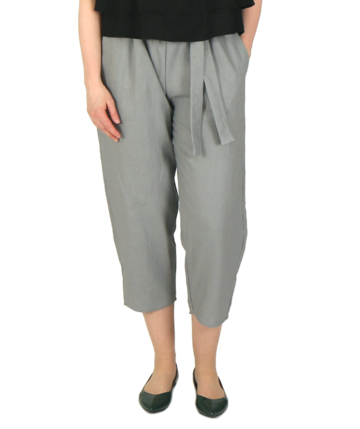 Linen trousers | grey