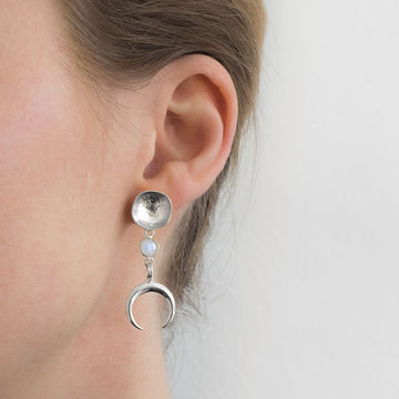 Kiana earrings | silver