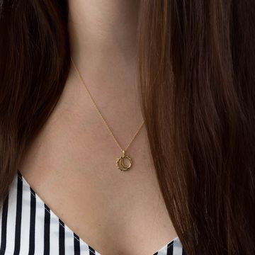Maeve necklace | gold