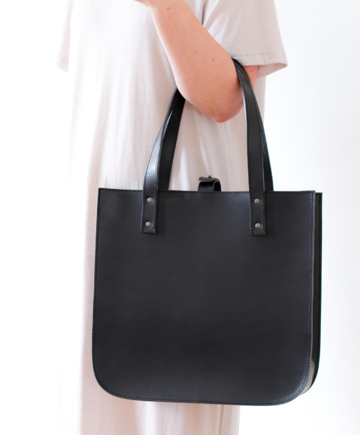 SILVIA tote bag | black