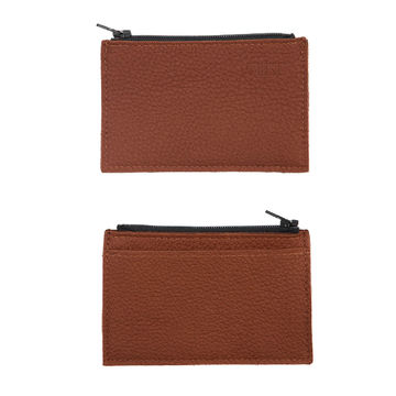 Coin & Card purse | brown