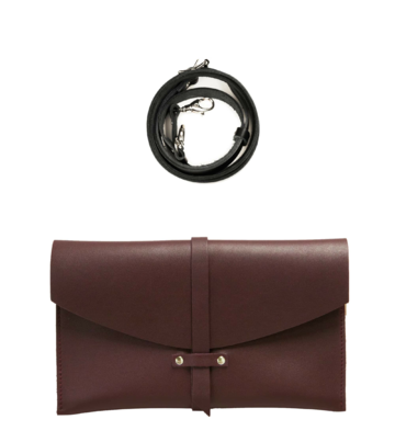 Agata handbag | wine