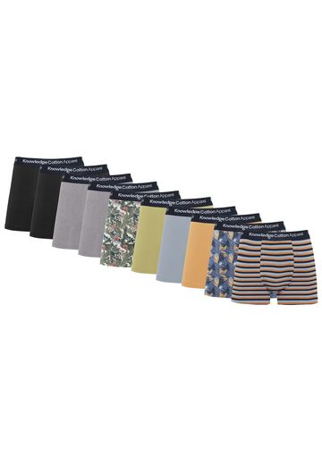 Bokserit 10-pack | dark denim multicolor