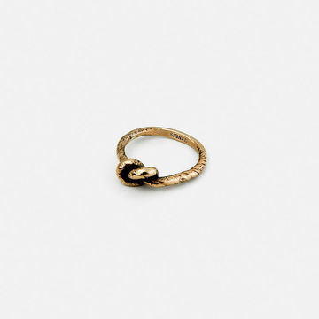 Knot ring | bronze