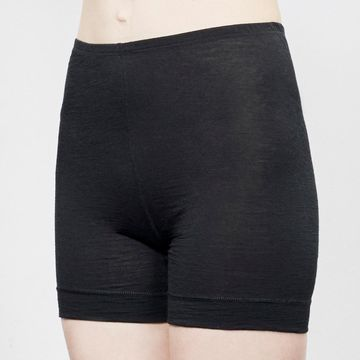 Wool shorts | black