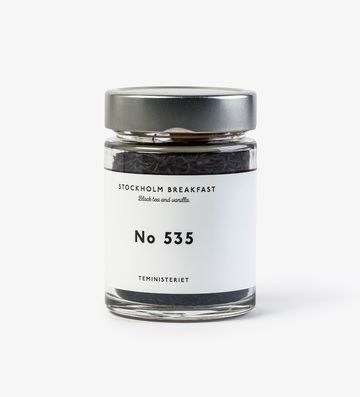 Stockholm breakfast | black tea nro 535 JAR