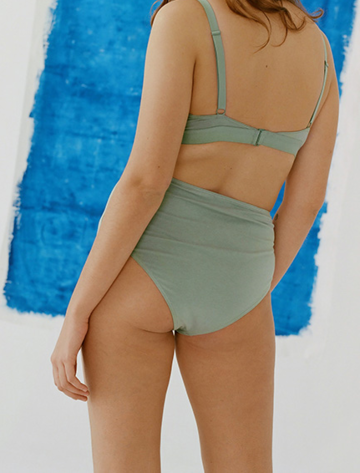 High Waisted brief | mint
