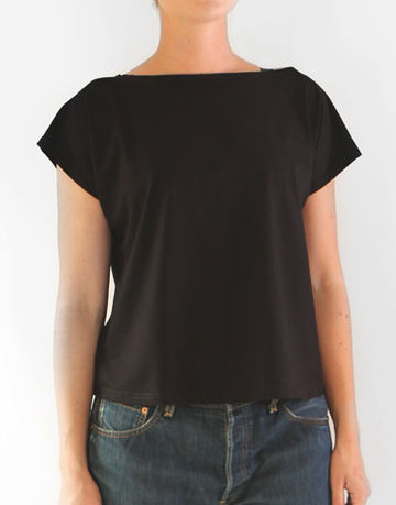 V back top | black