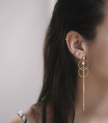 Nimue earrings | gold