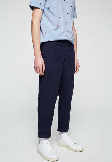 Taadeo chinos | dark navy