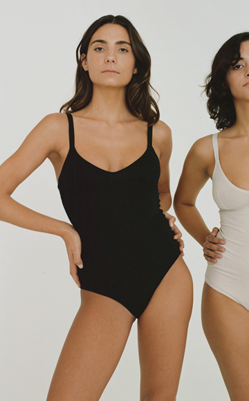 Basic bodysuit | black