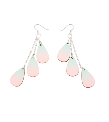Drop earrings mini | peony dream