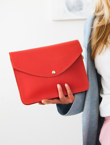 Armi large handbag | bright red