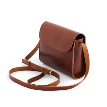 ELVI crossbody bag | brown