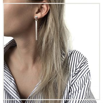 Amaia earrings | silver