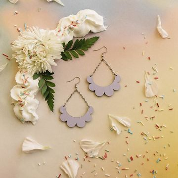 Kaarella earrings | lavender