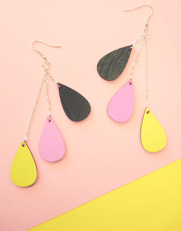 Pisara earrings long | Karnevaali