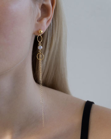 Aria earrings | gold