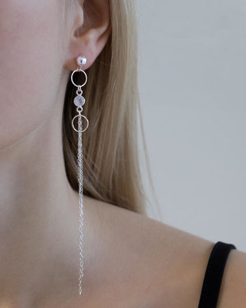 Aria earrings | silver