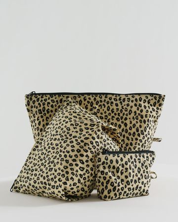 Go pouch set | honey leopard