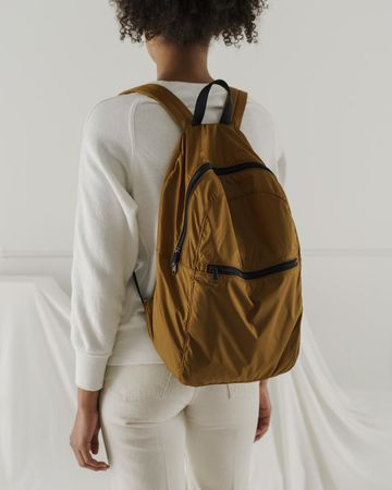 Packable backpack | bronze
