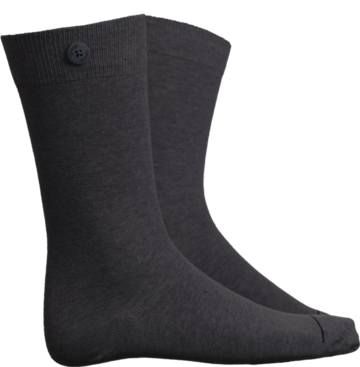 Socks solid | dark grey melange
