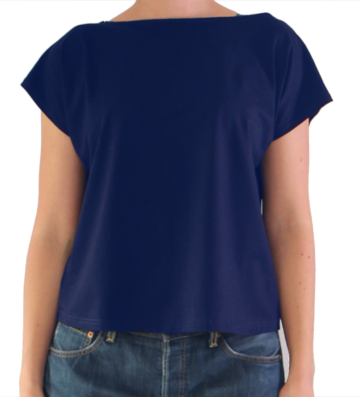 V back top | purple