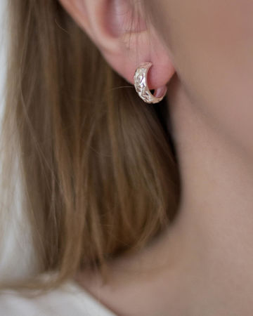 Cinna mini earrings | silver